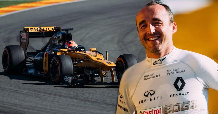 Кубица поблагодарил за возможность вернуться за руль Формулы-1 | Формула-1