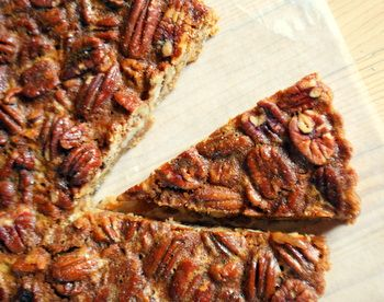 Honey Pecan Tart - to make with my new tart pan!