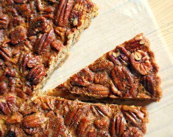 Honey Pecan Tart - to make with my new tart pan!