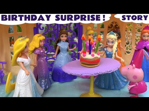 Rapunzel, Ariel, Elsa Frozen Happy Birthday  Song And Many More Songs Nursery Rhymes Collection Kids - YouTube