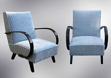 Pair of Jindrich Halabala´s armchairs