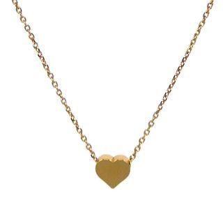 fijn gouden verguld kettinkje hartje shoptip online 9straatjes beadies shopping sieraden