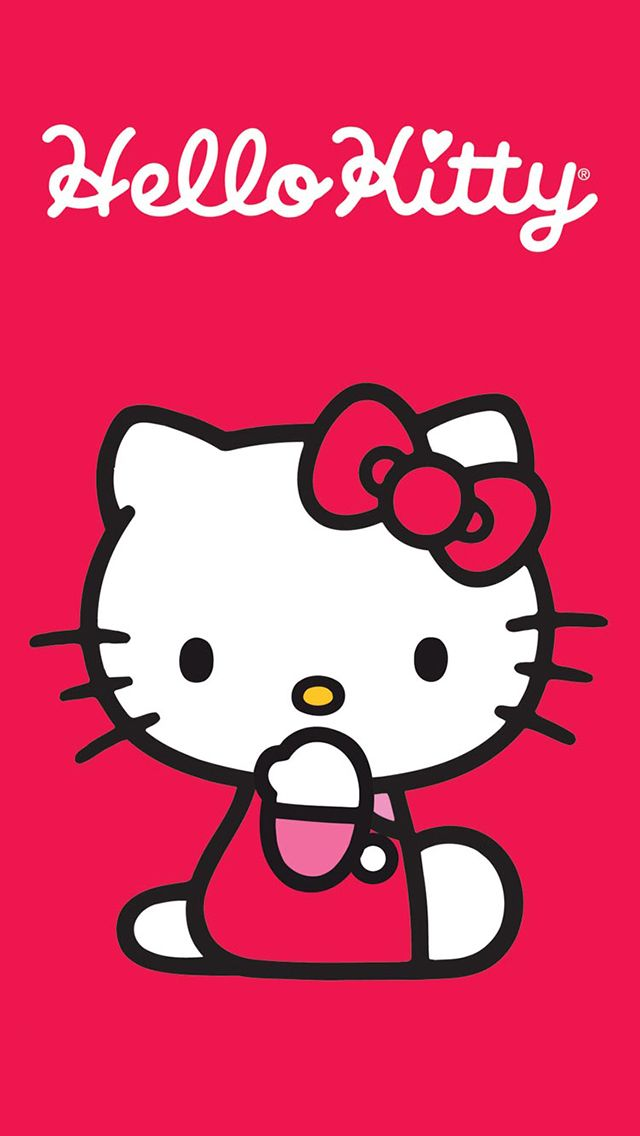 hello kitty wallpaper iphone