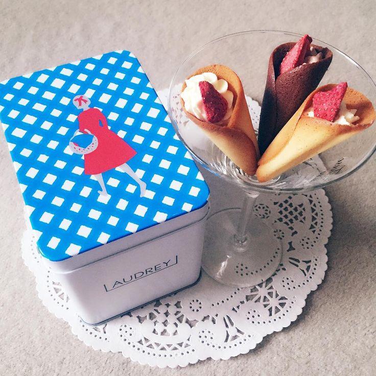 甘ずっぱい花束♩苺スイーツ専門店「オードリー」のグレイシアが愛らしすぎる - macaroni