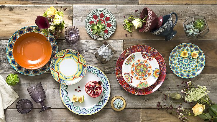 Colore e magia in tavola