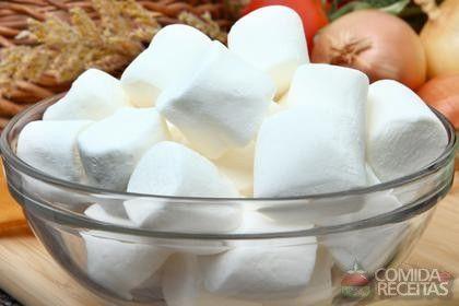 Receita de Marshmallow em receitas de molhos e cremes, veja essa e outras receitas aqui!