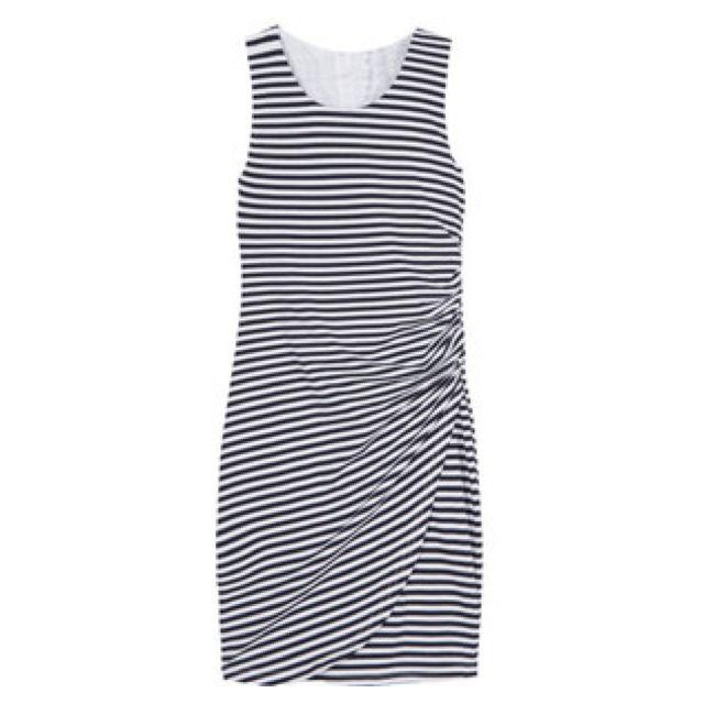 Stitch fix maxi dress black and white
