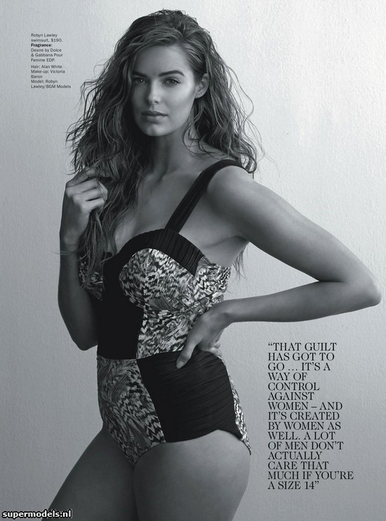 Supermodels.nl Industry News - Robyn Lawley in Poster Girl...