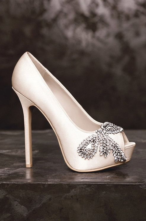 Wedding Shoes: White by Vera Wang, Spring 2013