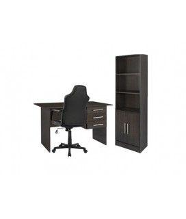 Φοιτητικό πακέτο με γραφείο,καρέκλα γραφείου & βιβλιοθήκη
