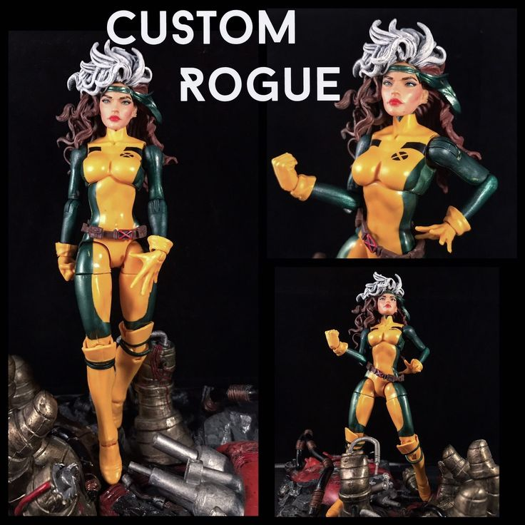Custom Rogue Jim Lee X-Men Marvel Legends | eBay