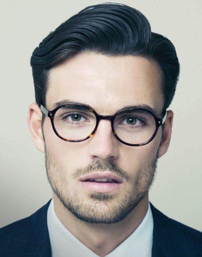 Les lunettes sans correction un accessoire top! Comment choisir son modèle     Lunettes masculines   Hair styles, Haircuts for men et Hair 4454d85528a6