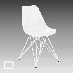 Designstuhl Coco, moderner, weißer Hochzeitsstuhl