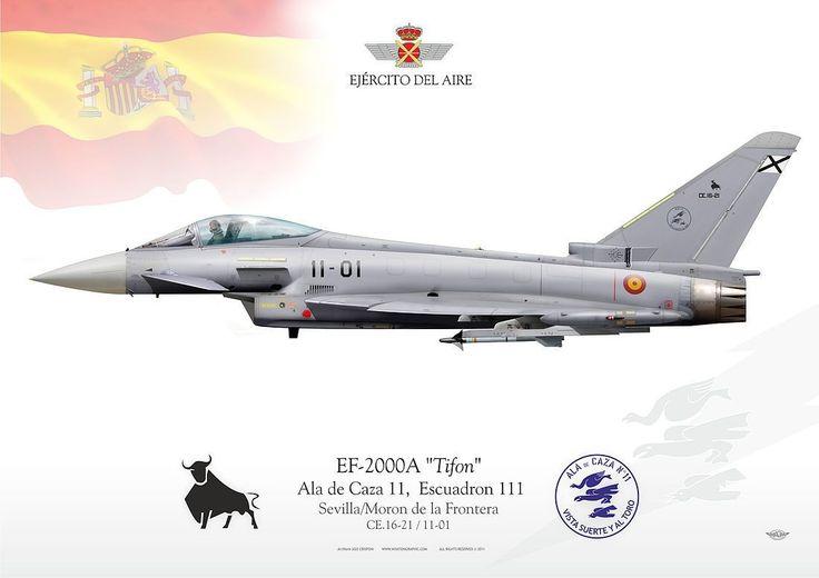 SPANISH AIR FORCE . EJÉRCITO DEL AIRE Ala de Caza 11, Escuadron 111 Sevilla/Moron de la Frontera Air Base2005