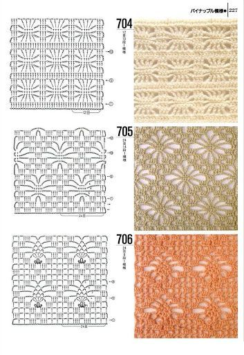 tutorials crochet stitch crochet patterns tric free weblog publishing ...
