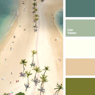 """dusty"" shades of colors, beige and white, color of sand, color of sea, color of wet sand, Cyan Color Palettes, green and white, khaki, shades of beige, shades of sea water, white and beige, white and green."