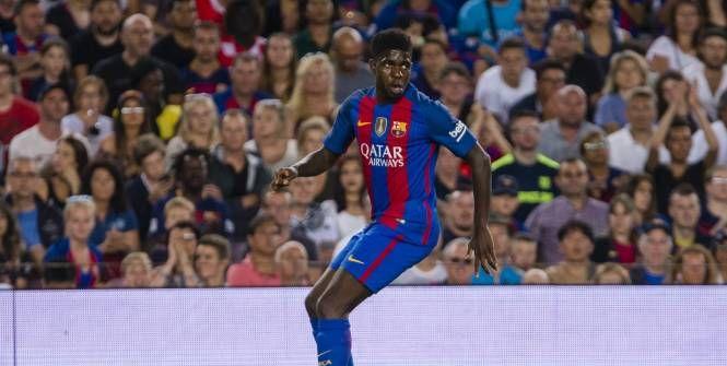 Luis Enrique surpris par Samuel Umtiti (Barça) http://www.lequipe.fr/Football/Actualites/Luis-enrique-surpris-par-samuel-umtiti-barca/727038