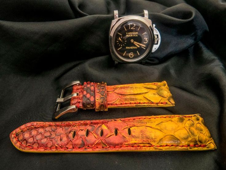 PANERAI Watch band / straps Visit our website : Laccrado.com for more Like our page for more EVENT and PROMOTION https://www.facebook.com/laccrado/?fref=ts . BEGIN YOUR OWN STYLE WITH US NOW #hublot #patekphilippe #rolex #leatherstrap #watchlover #audemarspiguet #wristwatch #watches #omega #sevenfriday #rolex #sevenfridayindonesia #paneristi #panerai #paneraistrap #paneraicentral #luxury #luxurystyle #handmadestrap #beststrap #watchstrap #singaporewatch #pythonwatchband #pythonwatchstrap