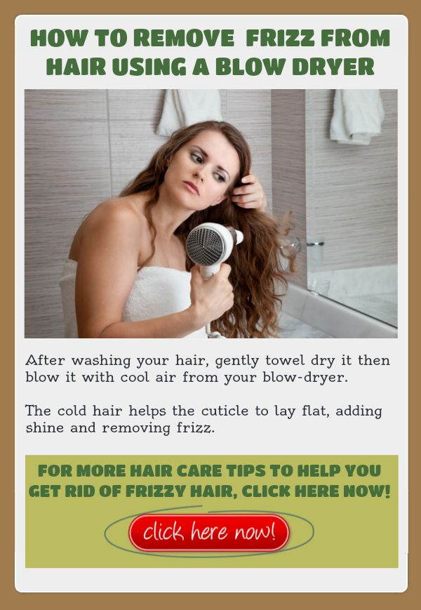 how to style hair with hair dryer how to remove frizz from your hair using a dryer 5443