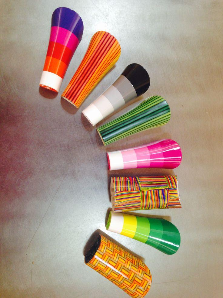 Rainbow heels!