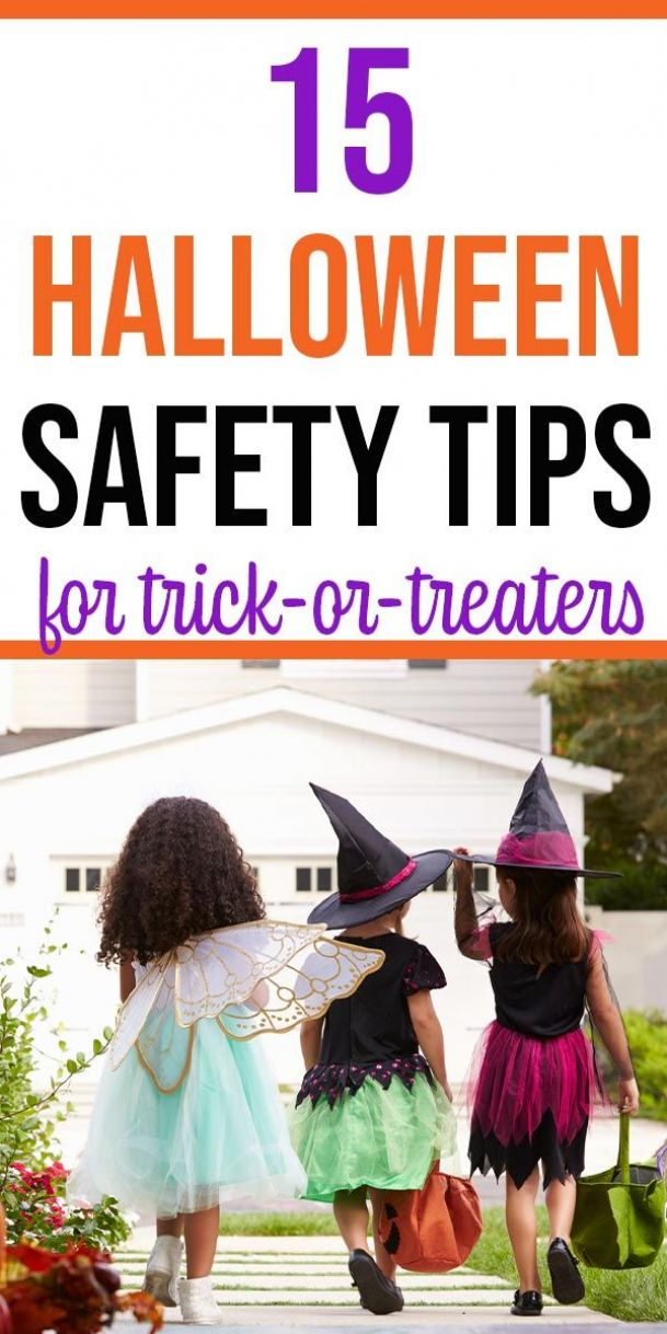 Be prepared for Halloween with these safety tips for