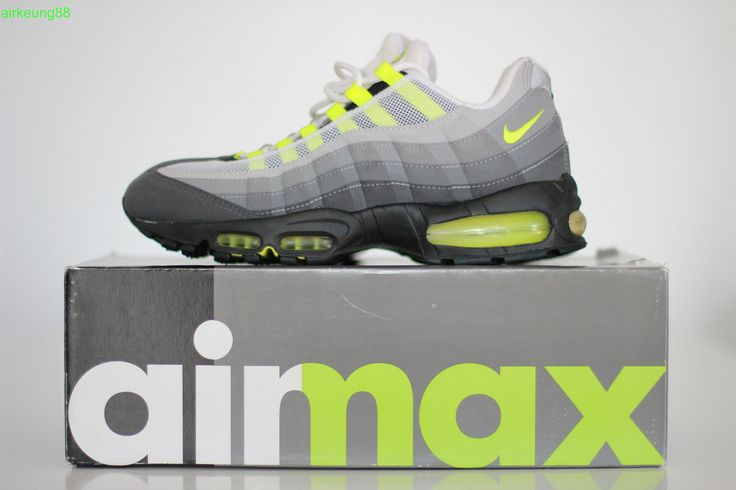 Nike Air Max 95 'Volt' | Fly kicks, | Nike air max, Sneakers