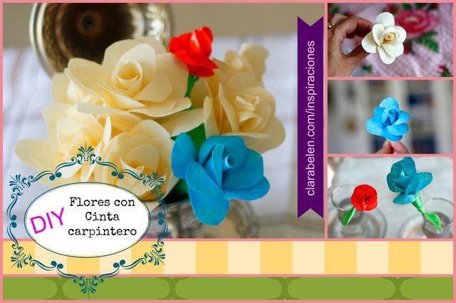 Inspiraciones: manualidades y reciclaje | Manualidades con cinta adhesiva de carrocero o de pintor