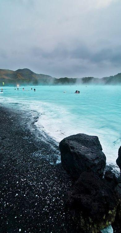 Hot Springs, Blue Lagoon - Iceland