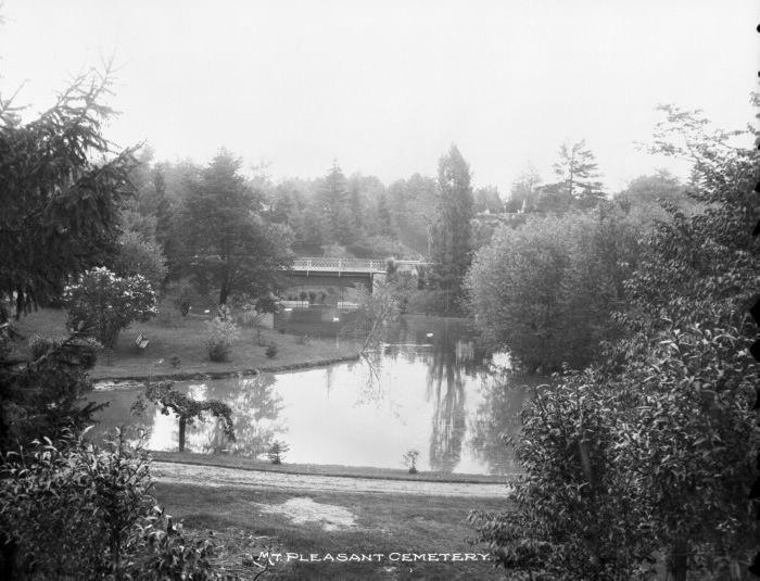 Mount Pleasant Cemetery.1890