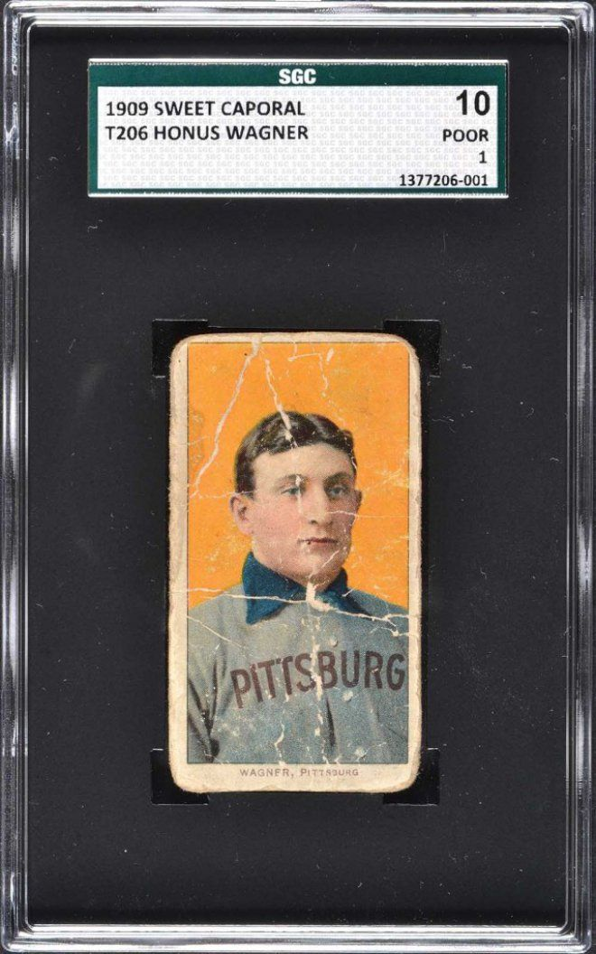 Rare Ty Cobb Baseball Cards Found In Old Paper Bag Help Smash Honus Wagner Auction Record Baseball Cards Old Baseball Cards Baseball