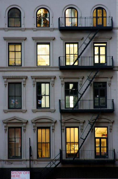 Milky Way, Solar System, Earth, USA, New York City, Manhattan, Upstairs, first door on the right.