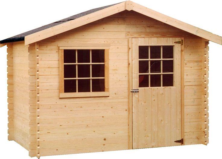 AKI Bricolaje, jardinería y decoración.  Caseta madera FLOSIVO