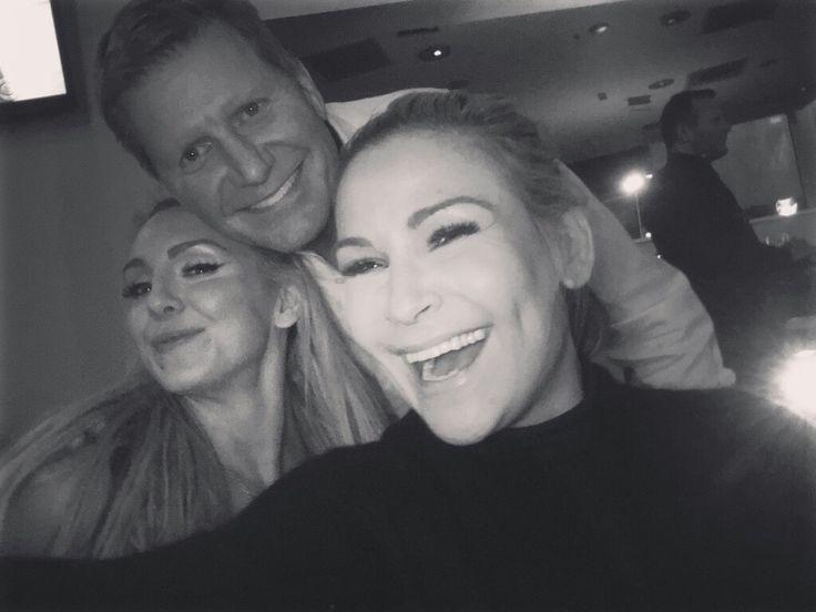 John Laurinaitis with Charlotte & Natalya