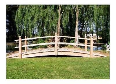 Bridges 115773: 14 Ft. Hand-Crafted Double Rail Bridge [Id 672573] -> BUY IT NOW ONLY: $2259.34 on eBay!
