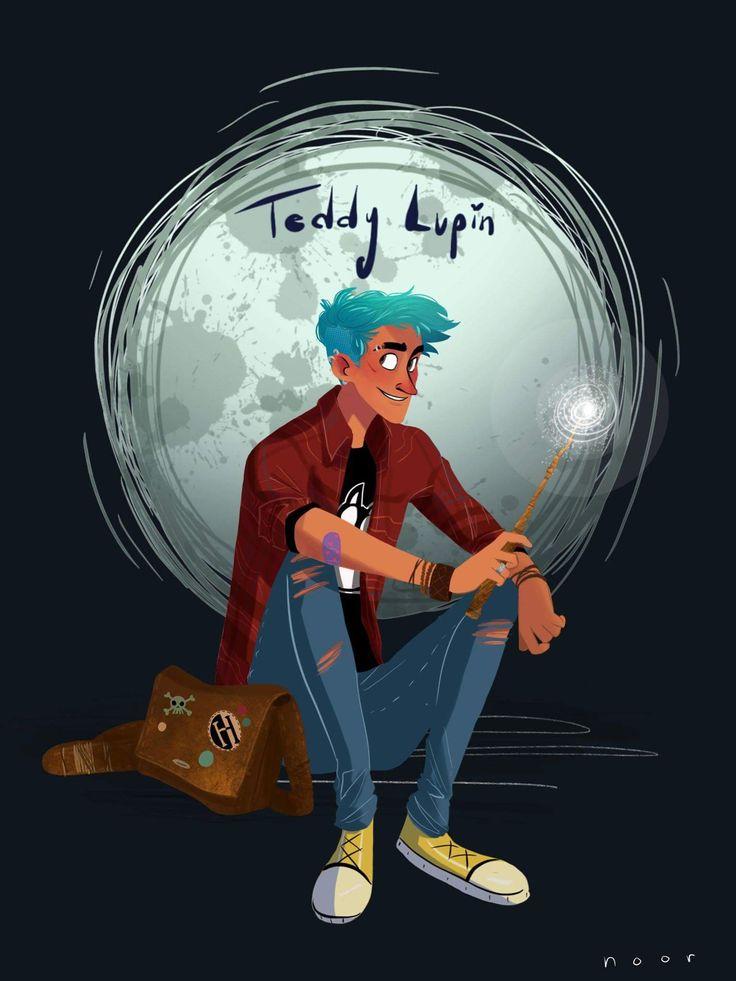 Teddy Lupin By Noor Sofi