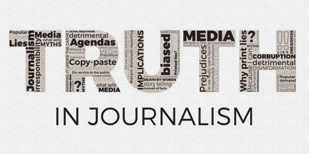 Truth in journalism is rare - the most reliable information in the press nowadays has been reduced to: year and date. But what in fact have we allowed to breed instead...  #journalism #truth #writing #freedomofspeach #lies #media #defamation #UnimedLiving