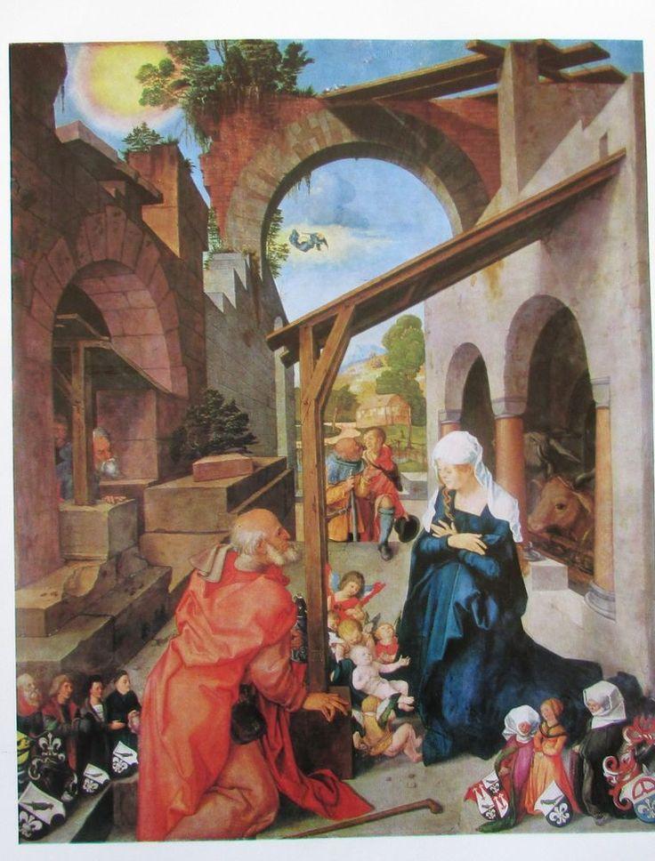 Albrecht Dürer GEBURT JESU UND HEILIGE CHRISTOPHERUS * 2 Reproduktionen Kunstdrucke