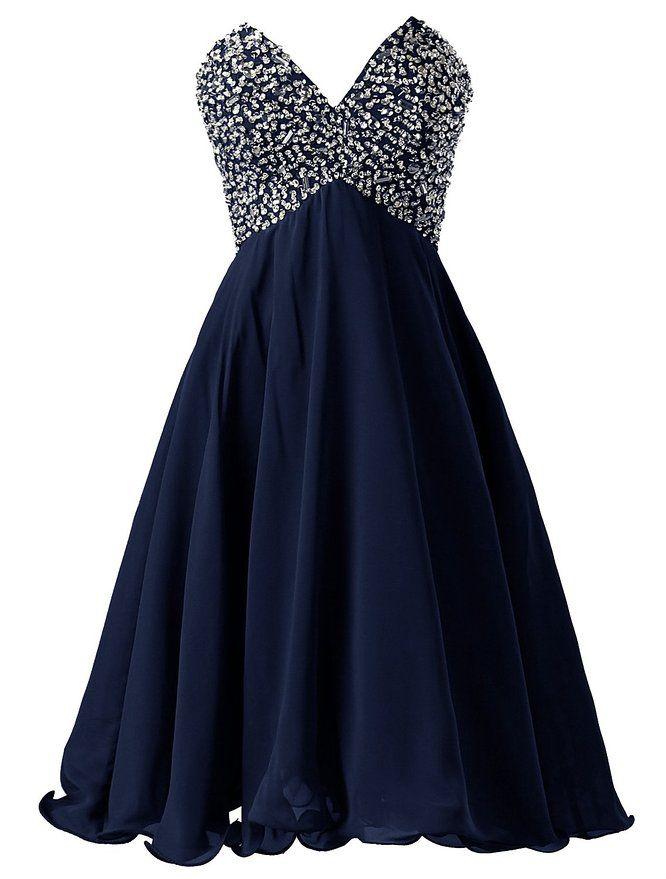 Dressystar navy homecoming dresses 2015,#v-neck homecoming dresses, #beading homecoming dress, #cheap homecoming dresses under 50,#unique homecoming dresses #homecoming dress patterns