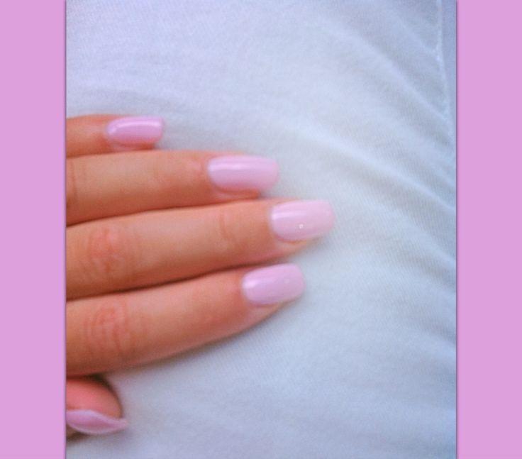 Nail art rose pastel , ongles rose , barbie look