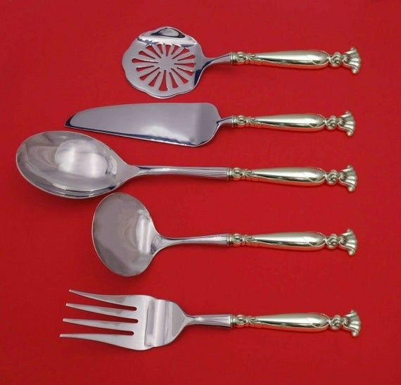 """Romance of the Sea by Wallace Sterling Silver Pie Server 11/"""" New"""
