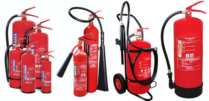 Portable Fire Appliances | Fire Extinguishers Types & Installation