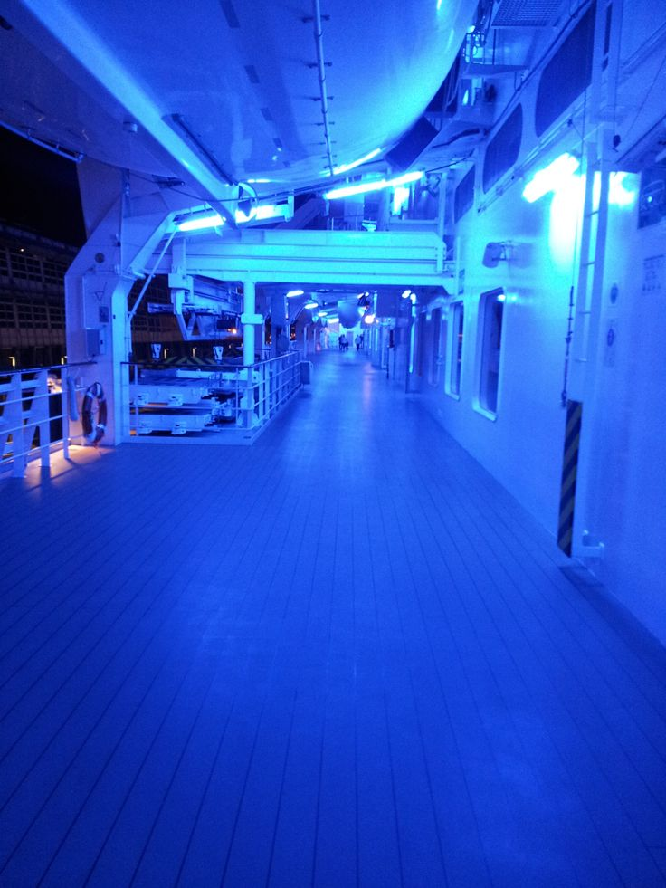 #Blue light disco anyone? Just some of our finishing touches.   #CruiseMiss