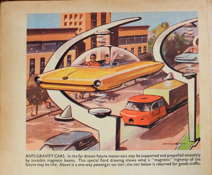 """Anti-gravity cars on a """"magnetic"""" highway (two tier maglev)"""