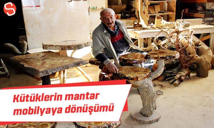 Yüzyıllık kütüklerin mantar mobilyaya yolculuğu #mantarmobilya #marangoz #adıyaman