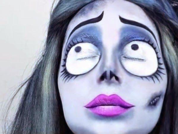 Maquillaje De Halloween Ideas, Catrina Maquillaje Facil, Maquillaje Caracterizacion, Tutorial Maquillaje, Disfraces Hollowendisfraces, Disfraces Sexto,