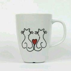 #Café * #Coffe ♡ #Xícaras / #Canecas  #design #decor #criativas ☆