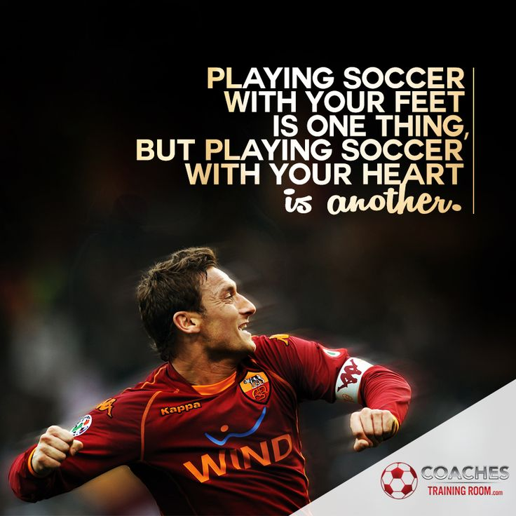 Inspirational Soccer Quotes And Sayings: 25+ Best Motivational Soccer Quotes On Pinterest