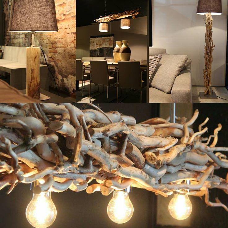 Afbeeldingsresultaat voor lamp drijfhout