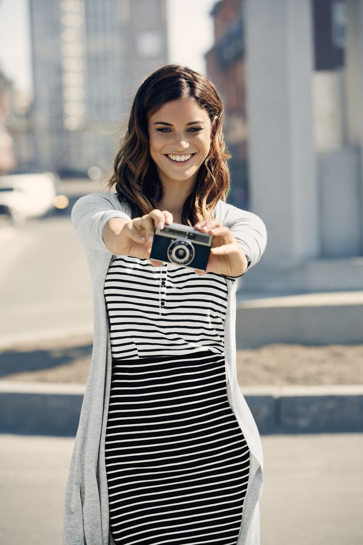 Capture the moment in soft-as-tees knit pieces.