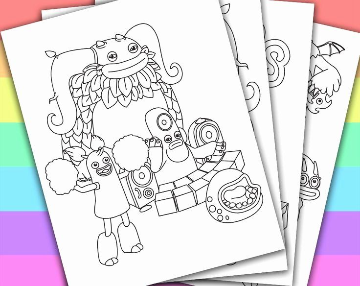 My Singing Monsters Coloring Book Inspirational 42 Best My Singing Monsters Party Images On Pintere Monster Coloring Pages Singing Monsters My Singing Monsters